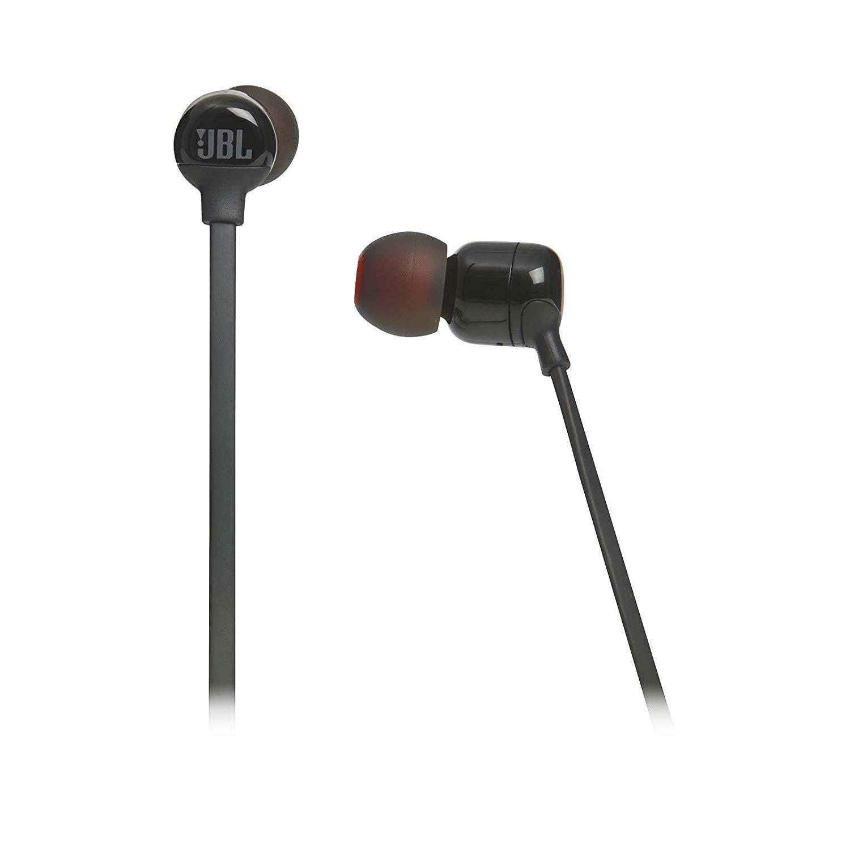 JBL T110BT Pure Bass Wireless in-Ear Headphone with Mic (Black)