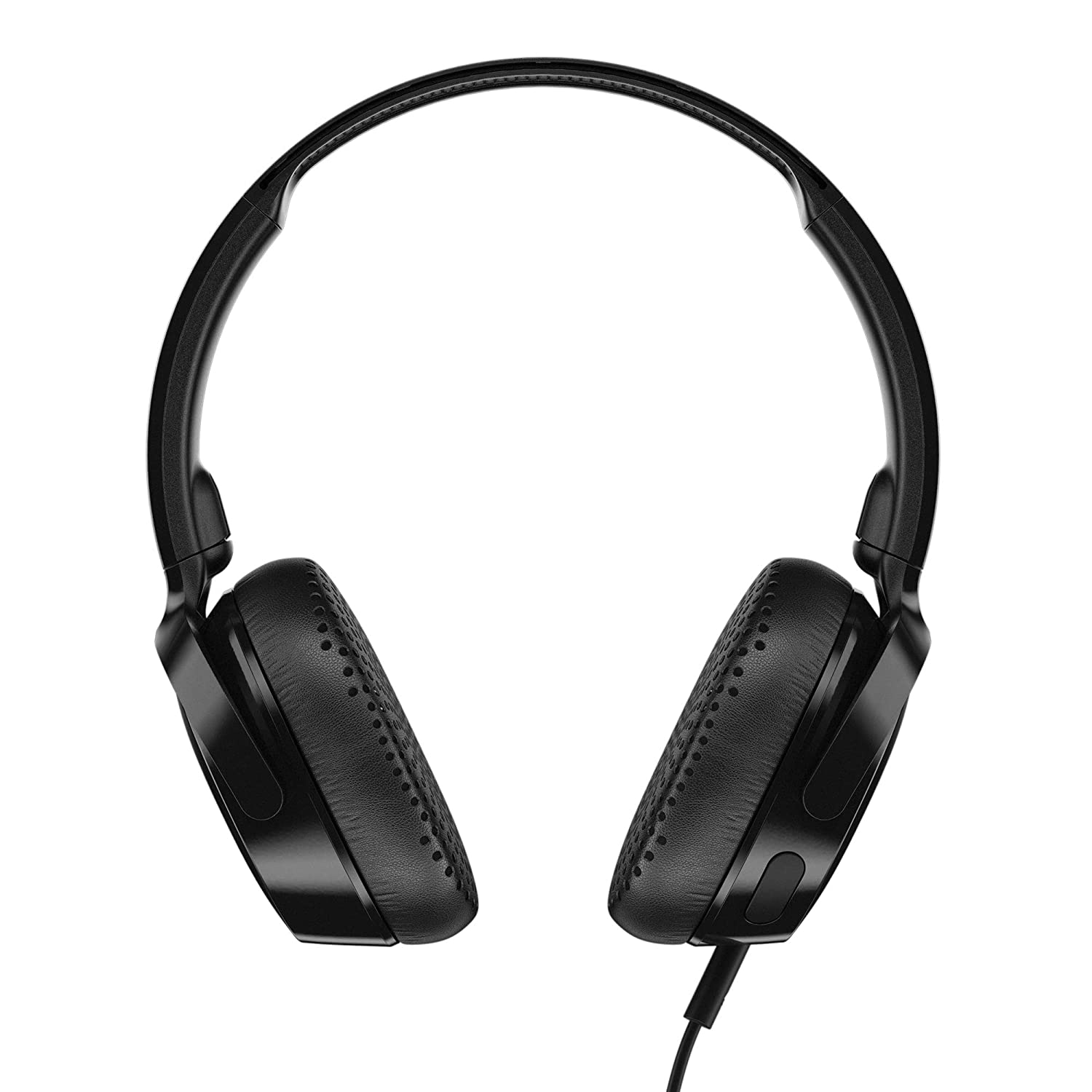 Skullcandy Riff Wired On-Ear Headphone with Mic (Black)