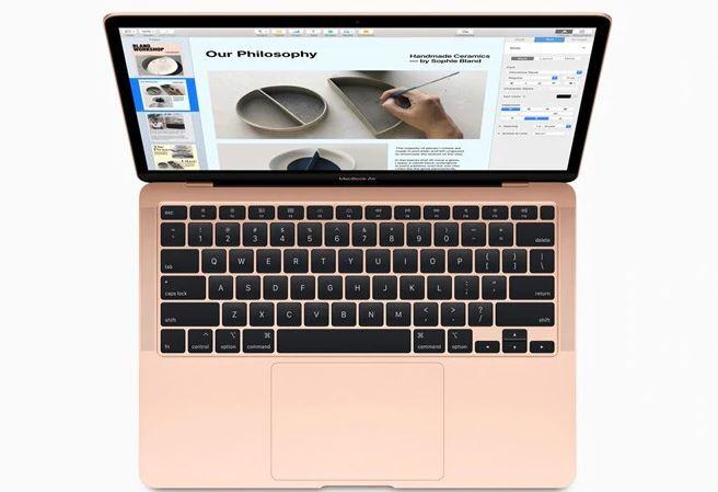 Apple Gold 13-inch MacBook Air Intel Core i5 processor 512GB MVH52HN/A