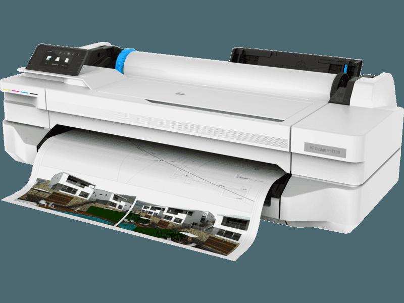 HP DesignJet T130 24-in Plotter Printer 5ZY58A