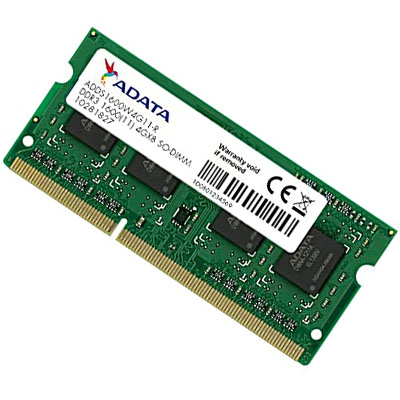 ADATA 4GB DDR3L 1600MHz Notebook Memory