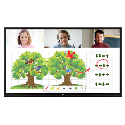 LG 75TR3BF-B Digital Signage Interactive Information Display