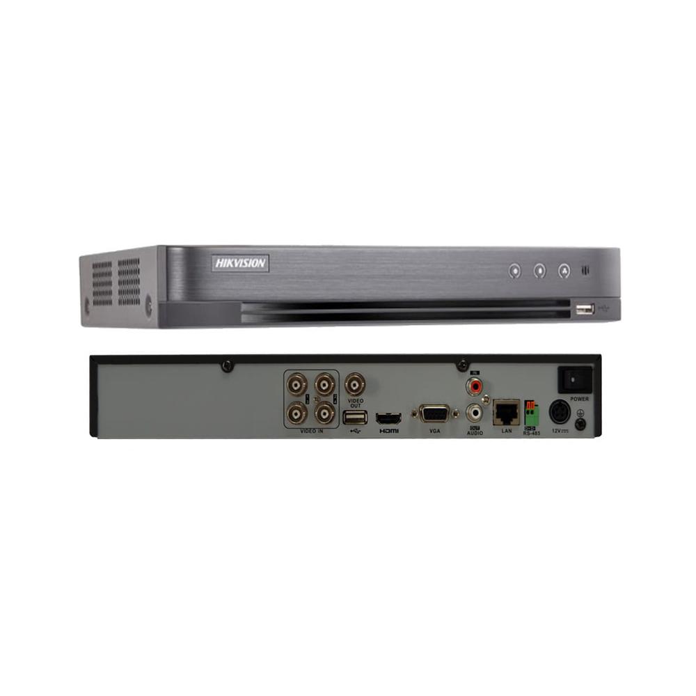 Hikvision DS-7B08HUHI-K1 5MP 4CH Turbo HD Metal DVR