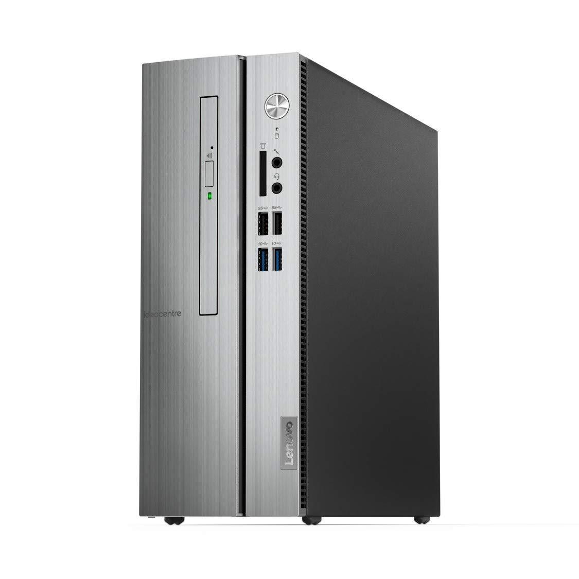Lenovo 310S-08IGM 90HX003RIN Mini Tower PC Intel Pentium J5005 4 Cores 4GB DDR4 1TB DOS 18.5inch Monitor Silver
