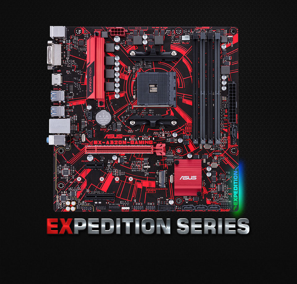 Asus EX-A320M Gaming AMD Motherboard