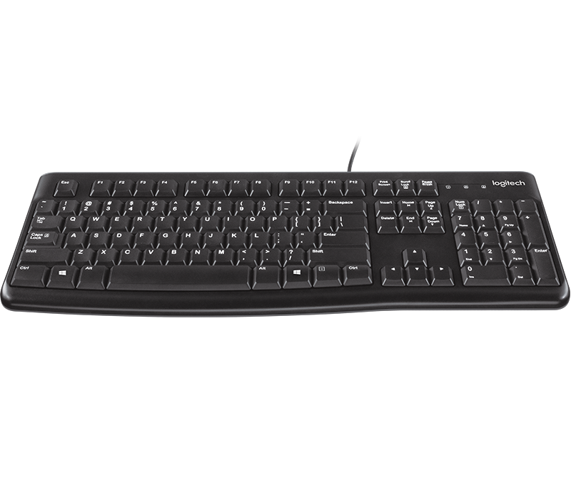Logitech MK120 Wired Keyboard and Mouse Combo (LOKB0052)