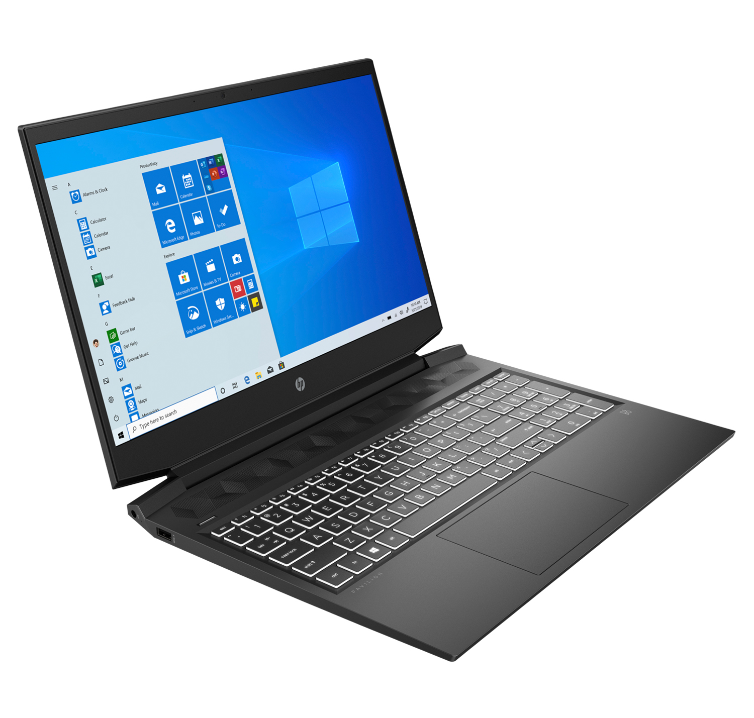 HP Pavilion Gaming Laptop 16-a0022tx 16.1inch FHD IPS i5-10300H 2.5Ghz 8GB Ram 256GB SSD+1TB HDD GTX1650 4GB GX Win 10 Black