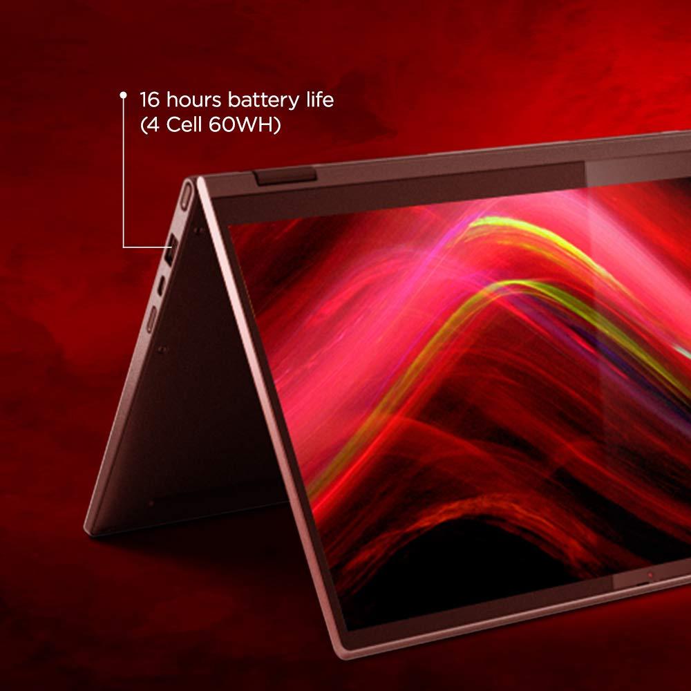 Lenovo Yoga C640 81UE0034IN Laptop i5-10210U 13.3 FHD IPS Touch 8GB 512GB SSD Win10 integrated GFX Iron Grey