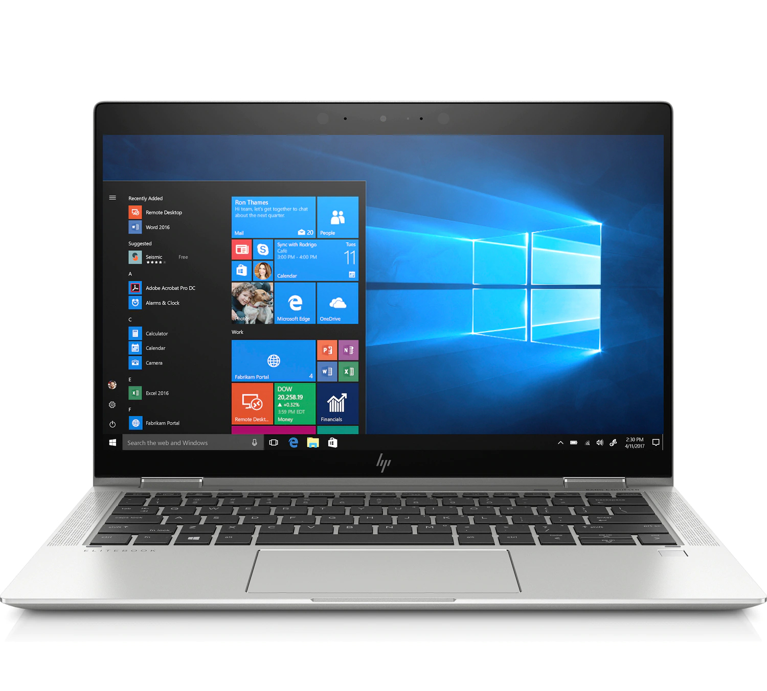 HP EliteBook x360 1030 G4 Laptop 8TW31PA 13.3inch FHD Touchscreen Display i7-8565U 8GB RAM 1TB SSD Win 10 Pro