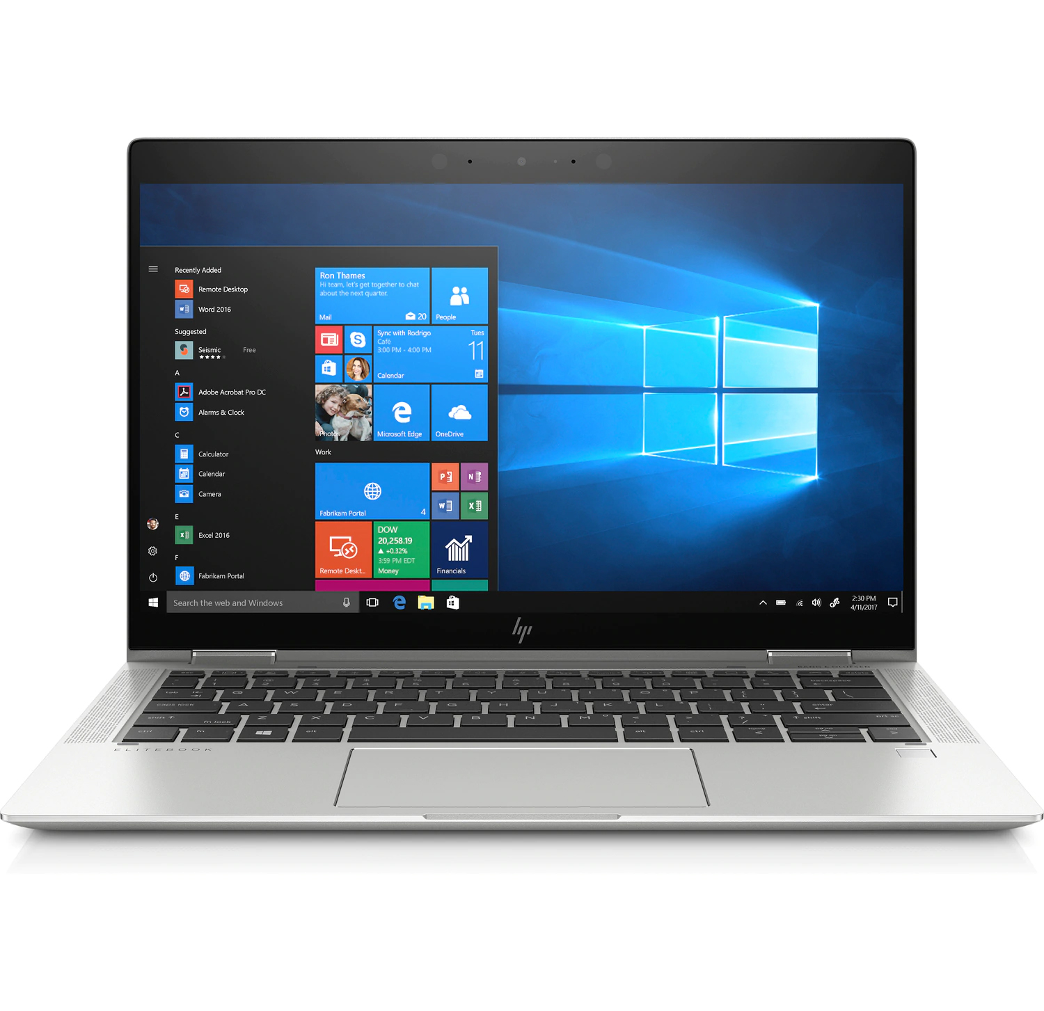 HP EliteBook X360 1030 G4 Laptop 8VZ71PA 13.3inch FHD Touchscreen Display with HP Sureview i7-8565U 16GB RAM 1TB SSD Win 10 Pro